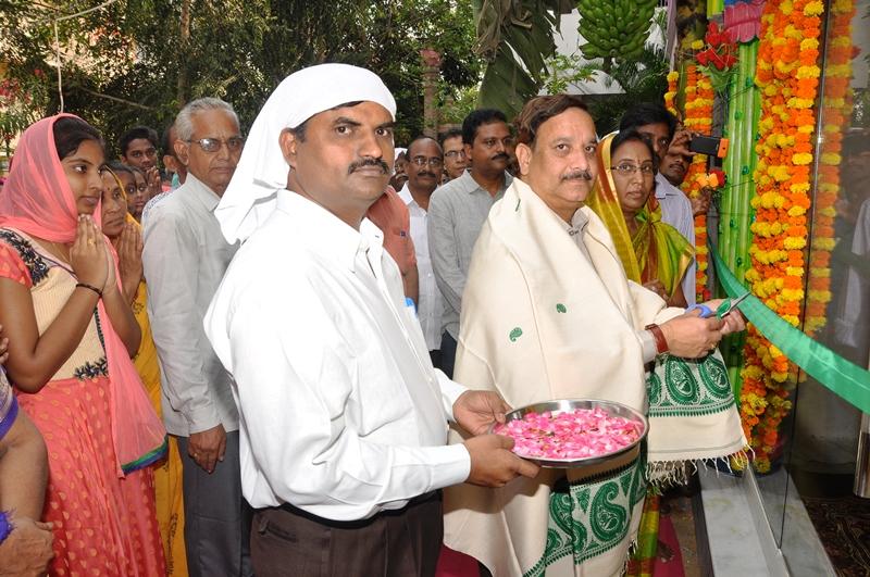Inaguration of Sri Mohiddin Basha Satguruvaryulu Mandiram