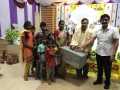 Sathguru Dr.Umar Alisha, guest sri S.V.Krishna Reddy ( Telugu Film director)  donation to poor children