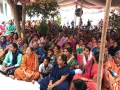 Disciples attended at Duvva  Sabha in Vysakhamasam 2017 tour