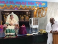 Sri Akula Satyanarayana , M.L.A ( Rajahmundry) addressing sabha