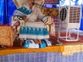 Sathguru Dr.Umar Alisha at Rajapudi ( jaggampetamandal)  Sabha in Vysakhamasam 2017 tour