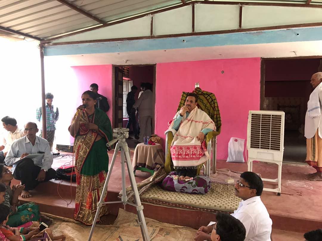 Sathguru Dr.Umar Alisha at A.Kothapalli  Sabha in Vysakhamasam 2017 tour
