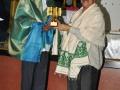 Presenting memento to Pitapuram Municiple commissioner M Ram Mohan