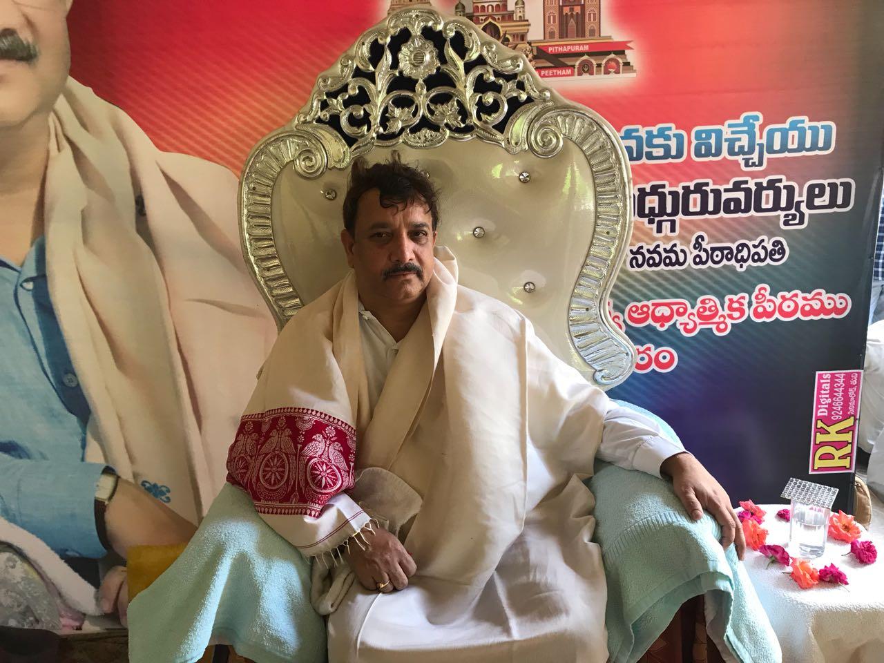 Sathguru Dr.Umar Alisha at Tuni in Karthikamasam tour Day8