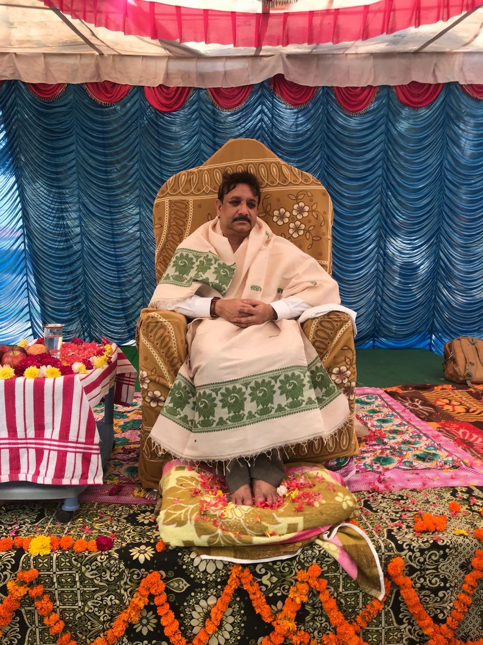 Sathguru Dr.Umar Alisha at A.P.Mallavaram in Karthikamasa tour Day8