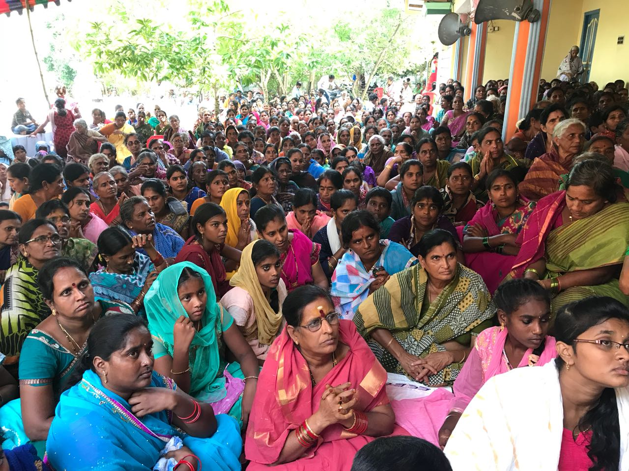 Tuni  - Disciples attended Karthikamasam tour Day8