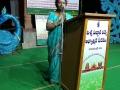Speech by Sri Viswa Viznana Vidhya Aadhyatmkia Peetham member Smt.Peruri Komali