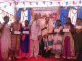 Cheques distributed to blind children at Bheemili Ashram, 16th Anniversary Sabha