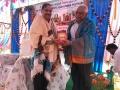 Sri Akkubatla Sharma garu (Rtd professor Andhra university ) at Bheemili Ashram, 16th Anniversary Sabha