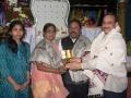 Memento to Mr. M .Mutyala Naidu Vice chancellor Nannaya university