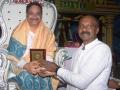 Presenting Momento to Gana Babu garu