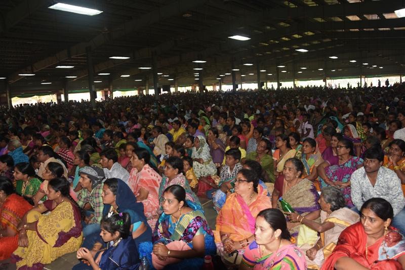 Disciples at Mahasabhalu 3rd day