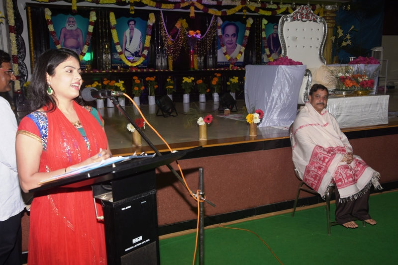Speech by Actress Chitra Lekha, Hyd