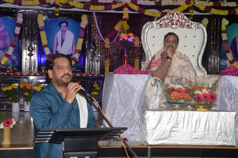 Speech by Alisha garu (Brother of Sadhguru)