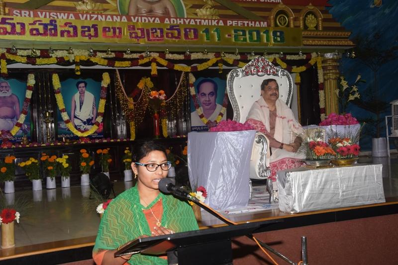 Speech by D.Sai Prasanna