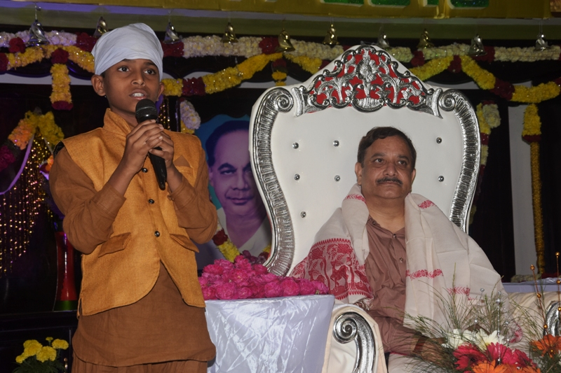 Speech by Master Pavan Kumar, Khammam