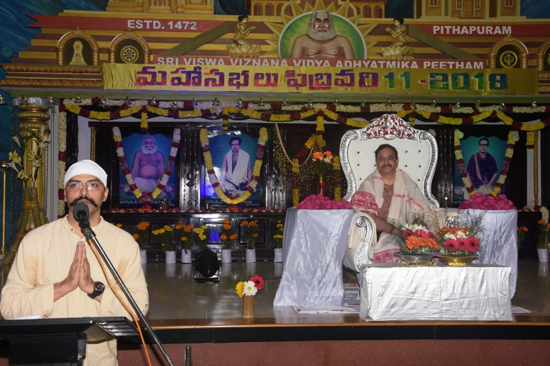 Speech by karnal Pravin Kumar Singh, Pune