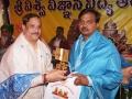 Memento to Dr.Merapala Narayana Rao representative of Buddha religion
