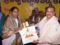 Memento to Kumari Madhavilatha  representative of Prajapitha Brahama Kumari  Theosophical University