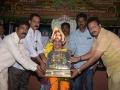 Rotary blood Bank Organisation team has felicitated Sathguru Dr.Umar Alisha