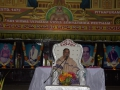 Sathguru Dr.Umar Alisha delivering speech on the occasion of Ugadi Sabha