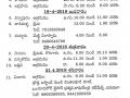 Vysakhamasam Tour schedule 2018 - Part1