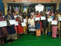 Certificates issued to women who have taken Sewing Course  organised by UARDT