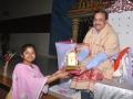 Memento to Miss B.Srujana in  Karthikapournami Sabha 2018