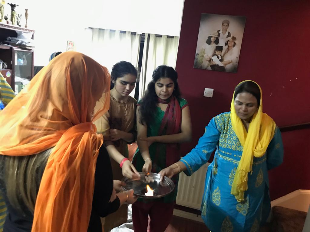 London Aaradhana at Mrs.Gubbala Bagyalakshmi's house on 1st Dec 2018