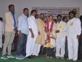 "Felicitation to Sathguru Sri Dr Umar Alisha garu with Mother India \""Viswa Ratna International\"" Award 2018 by MLC Sri Chikkaala Ramachandra Rao, Kakinada."