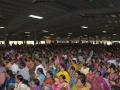Disciples attended at New Year sabha.