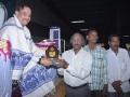 Sathguru presenting Memento to Dr.Kama Raju