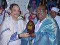Sathguru presenting Memento to Dr.P. Seetha Ram
