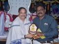 Sathguru presenting Memento to Mr.Sai Rama Krishna Thotakura