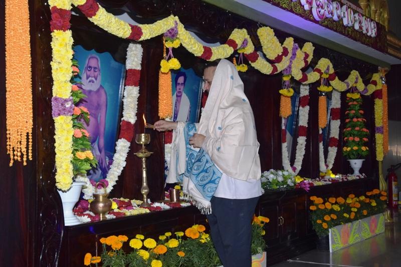 10-Feb-2019 Sabha Inauguration by Sathguru with Jyothi Prajwlana