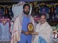 Sathguru Presenting memento to Geetham University Chairman Bharath