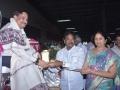 Sathguru presenting Memento to Mr.Anubabu Burra