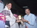 Sathguru presenting Memento to Mr.Satish Kethinedi