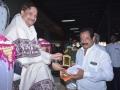 Sathguru presenting Memento to Municipal Chairman, pithapuram