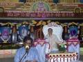 Speech by Mr.Raviteja Aakula in presence of Sathguru