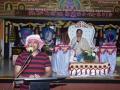Speech by Mr.Satyanarayana Muthyala, USA in presence of Sathguru