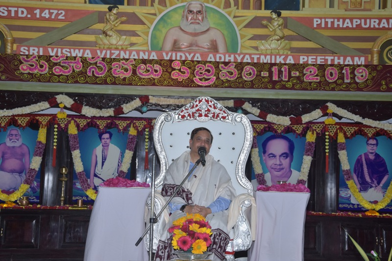 Sathguru Speech at 2019 MahaSabhalu 3rd day