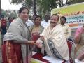 Felicitation to Smt. Samigrama   Lakshmi Prasanna
