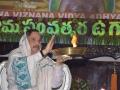 Harathi giving by Sathguru Dr.  Umar Alisha