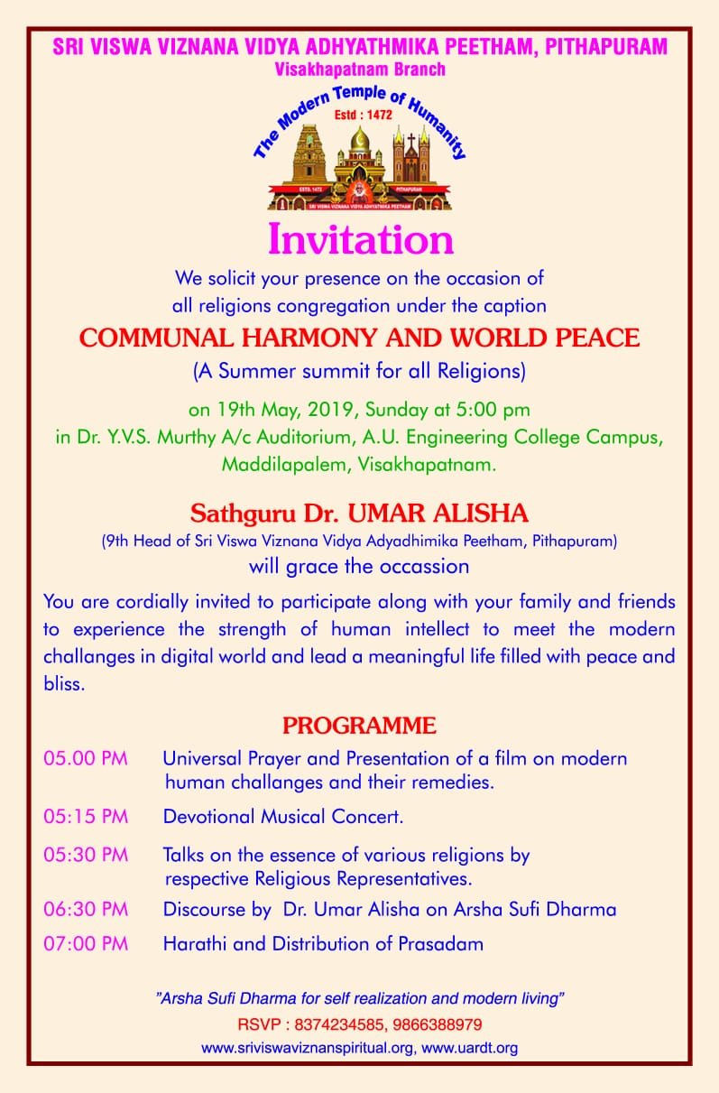 02-CommunalHarmonyInvitation-Visakhapatnam-14052019