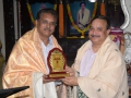 Memento to Dr.Ramalinga Raju  JNTUK Vice Chancellor