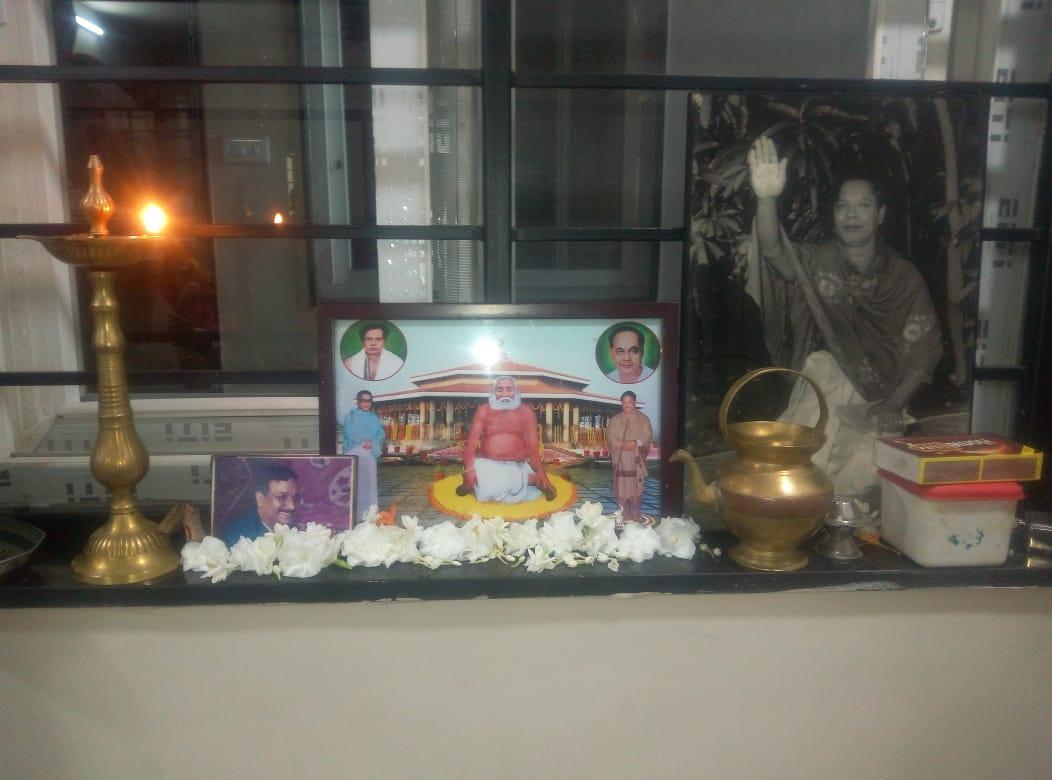 23 జూన్ 2019 న పింగళి పారడైస్, అక్కయ్యపాలెం, విశాఖపట్నం లో ఆరాధనా కార్యక్రమము డాక్టర్ పింగళి ఆనంద్ కుమార్ గారి స్వగృహము లో నిర్వహించబడినది