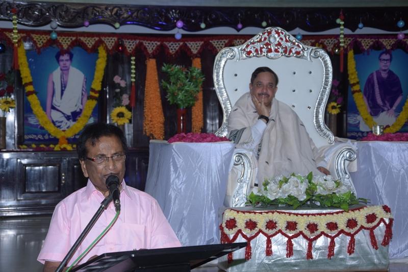 Speech by Mr. S.L.K.Prasad rao , Hyd