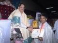 Memento to Mr.Uma Maheswar rao by Sathguru Dr.Umar Alisha
