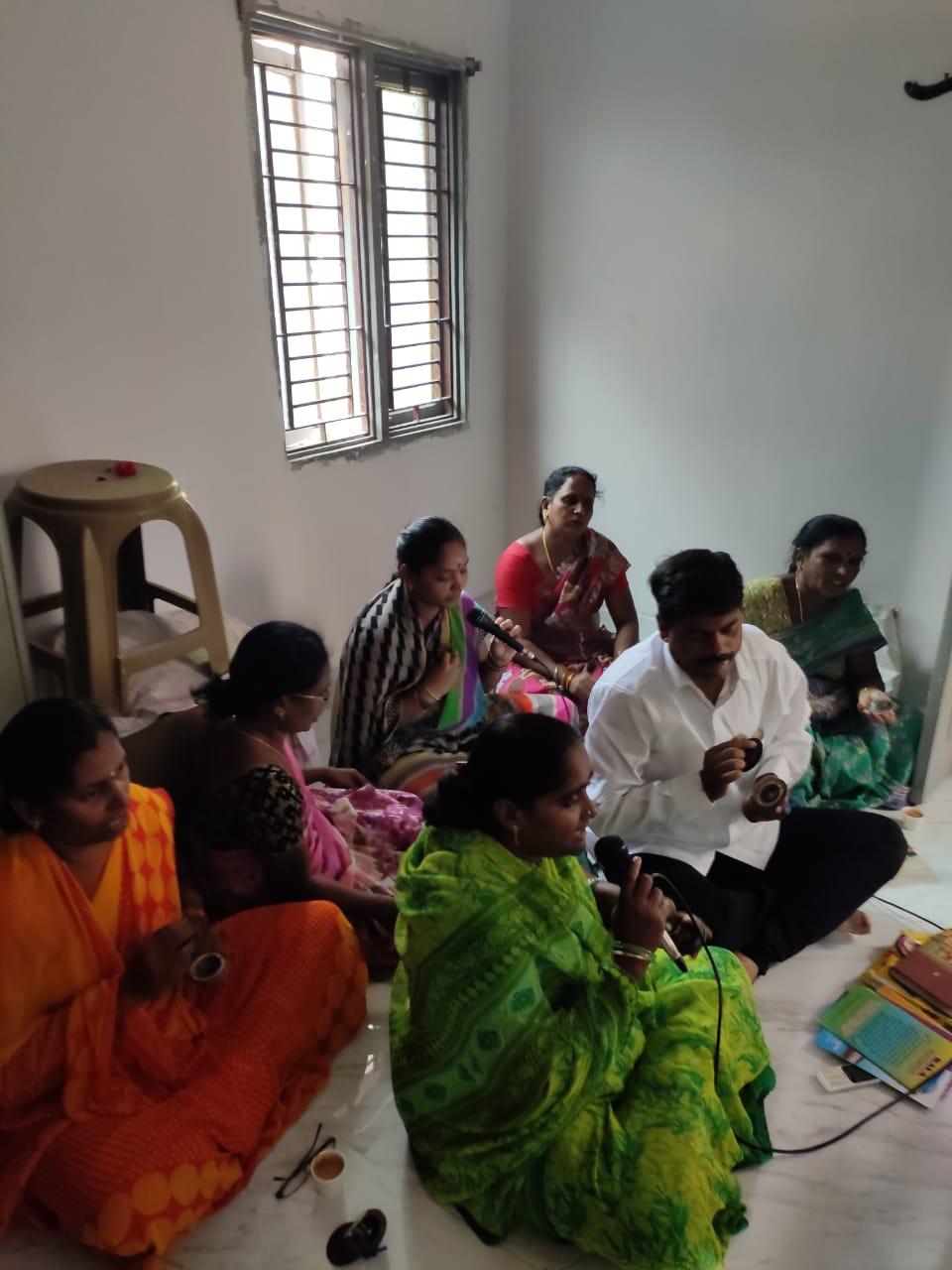 India-Seetharampuram-Weekly Aaradhana at Ashram on 04-March-2020